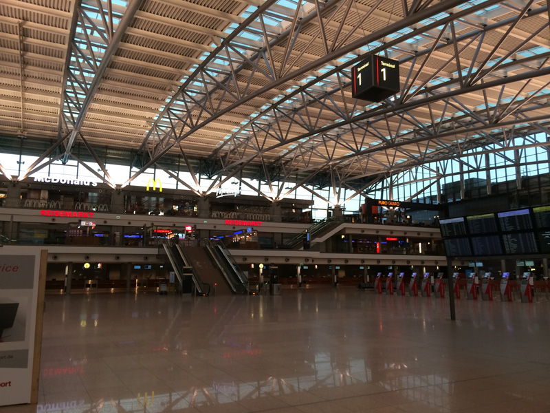 Operations in Hamburg Airport Temporarily Halted After 'Chemical Leak.'
