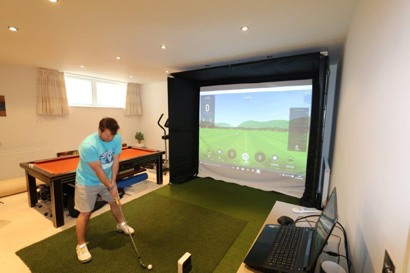 Golf at Home: What You Need to Know about Golf Simulators