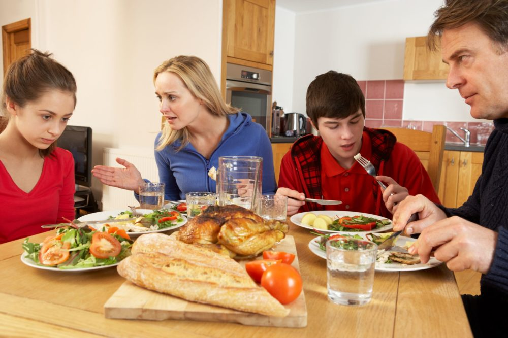 Dinner Table Disasters – Why HALF of UK Parents Admit Rowing with Their Kids at Mealtimes