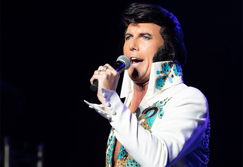 Bournemouth Elvis Star Garry J Foley Wins Major Prize