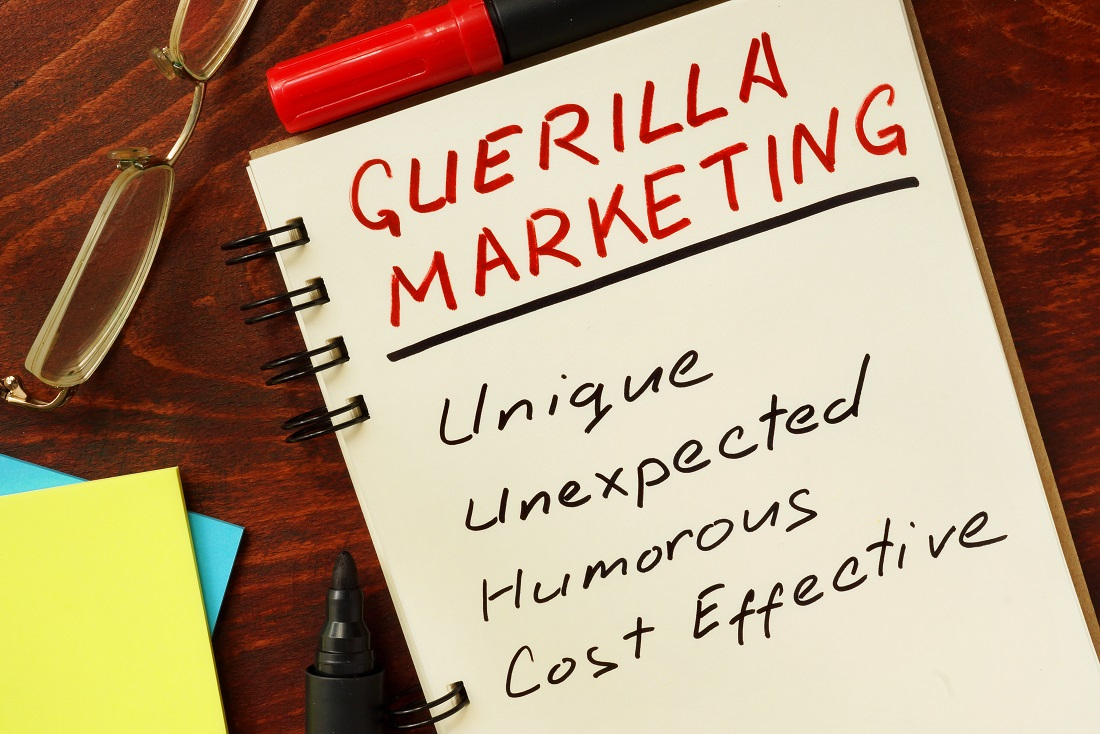 How Guerrilla Marketing Can Get You Noticed