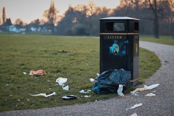 New data shows 23 items of rubbish are dropped in the UK every second
