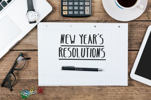 Top Tips for keeping your New Year's Resolutions going while back at work
